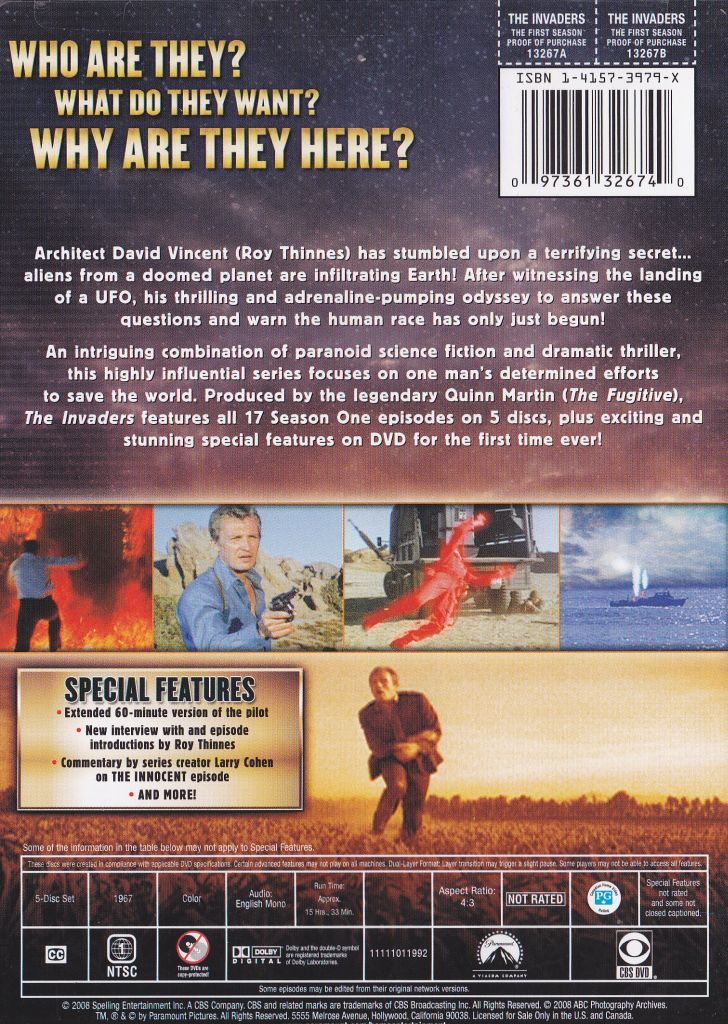 The Invaders On Dvd